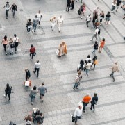 photo-Menschen auf Straße